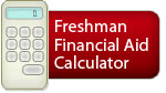 Freshman Financial Aid Calculator